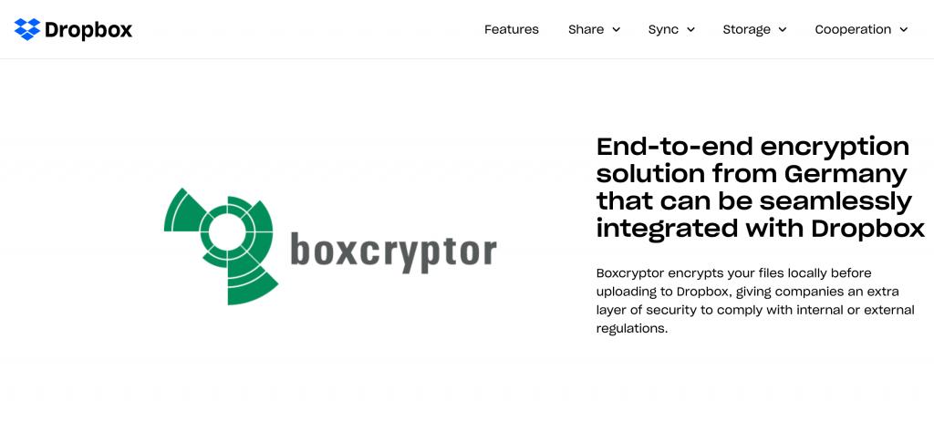 Dropbox Box Cyptor | Rugged Ratings