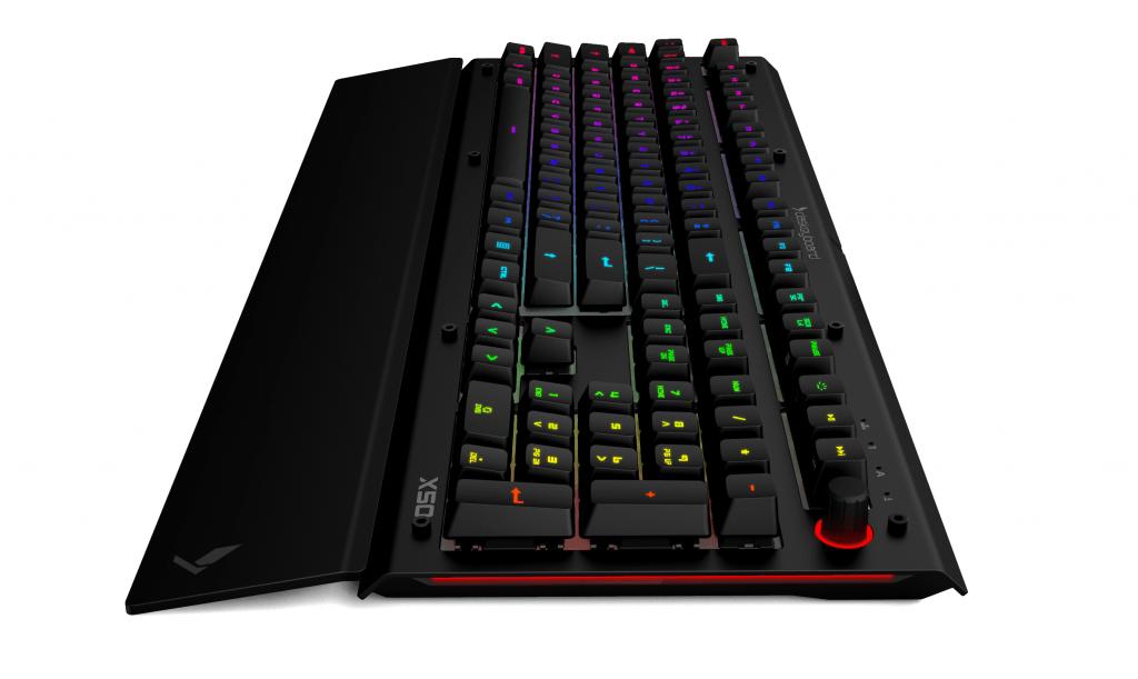 Das X50q with palm Rrest | Image Credit Daskeyboard Com