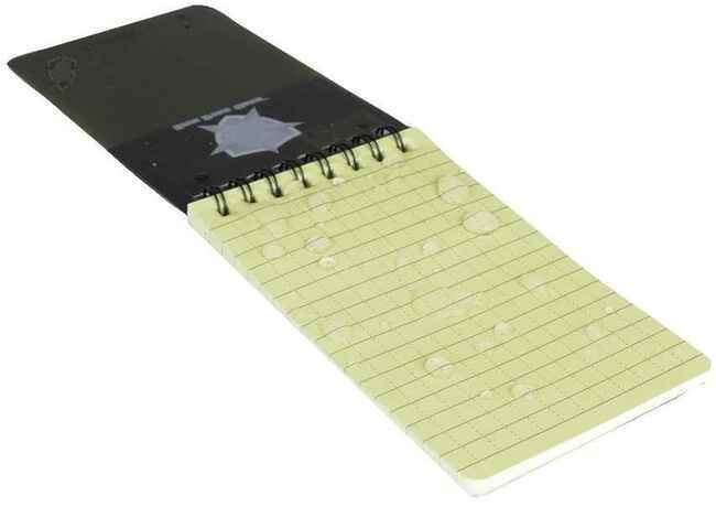 5ive star gear weatherproof 3 x 5 notebook 2