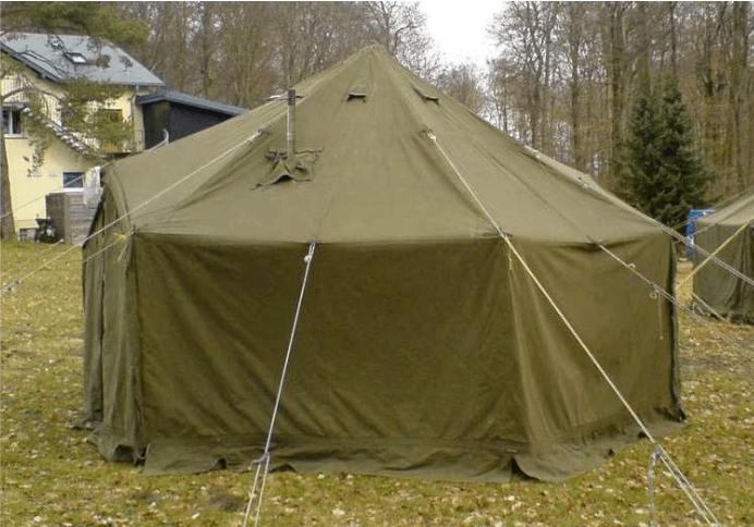 U.S. Military Tents - Vinyl General Purpose Small Tent | Image Credit: usmilitarytents com