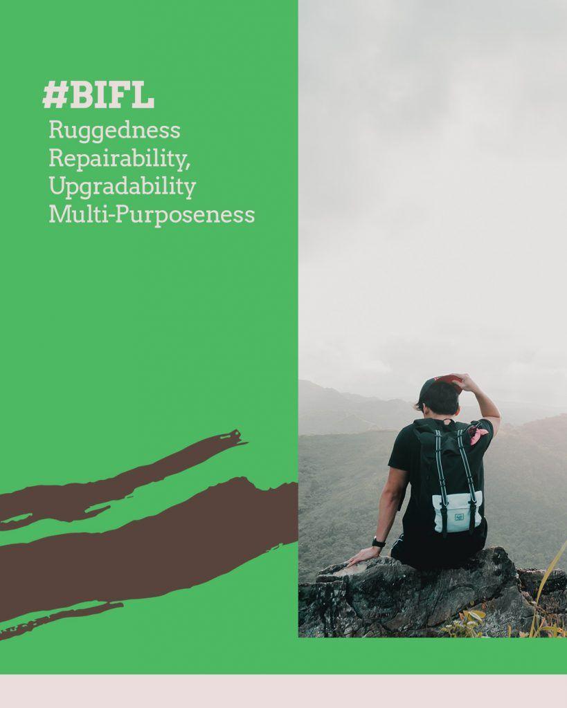 #BIFL - Rugged Ratings: Ruggedness, Reparability, Upgradability, Multi-Purposeness