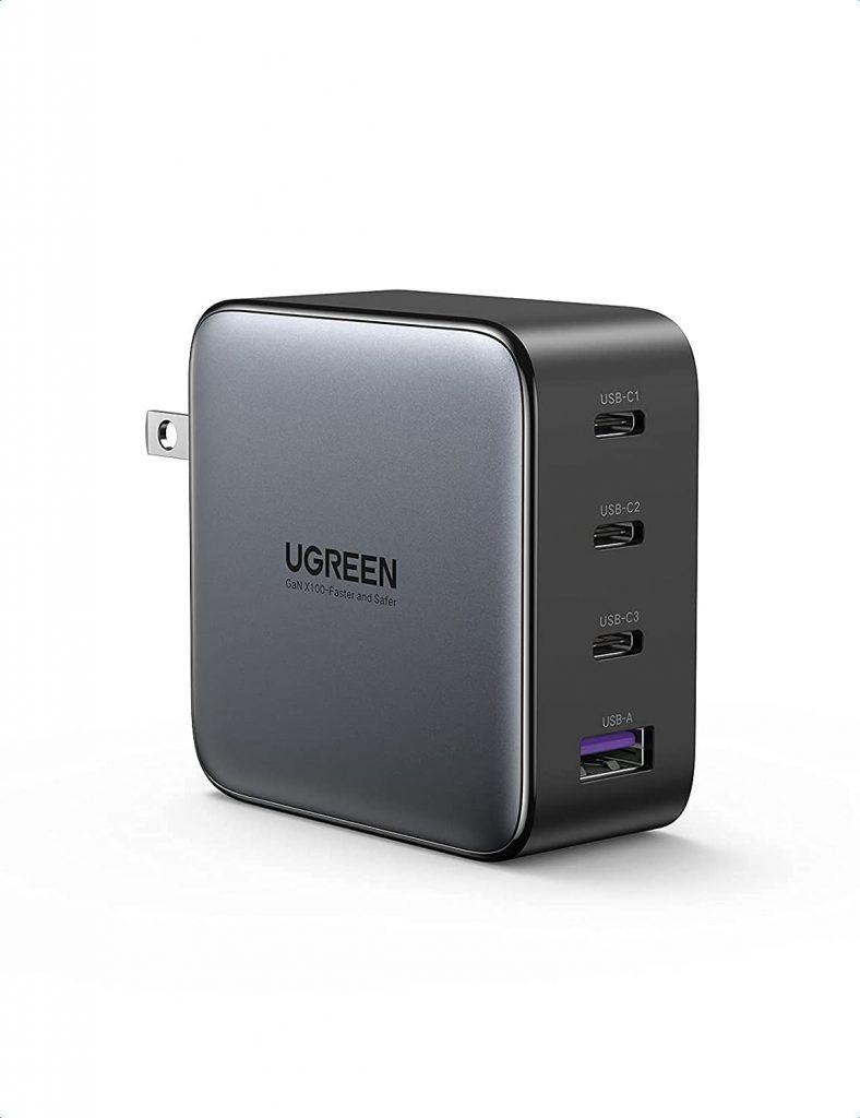 UGREEN 100W 3C1A GaN Fast Charger | Image Credit: Amazon com