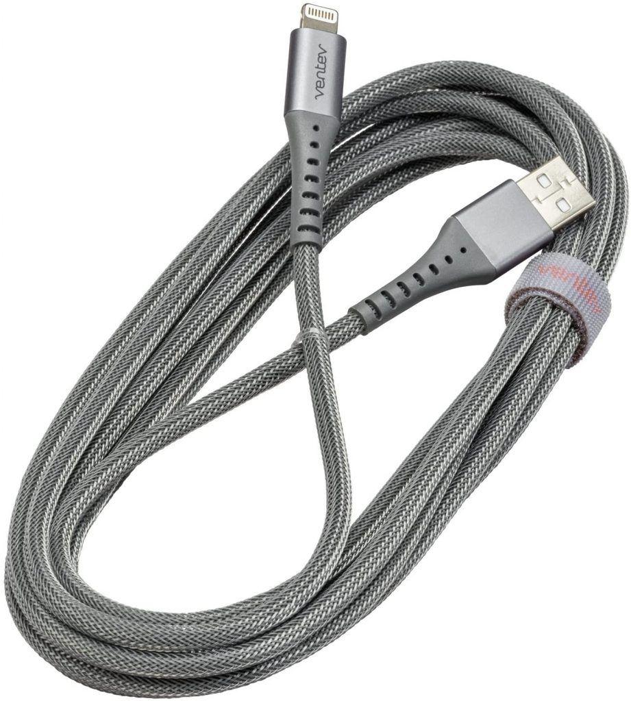 Ventev ChargeSync Apple Lightning Cable | Image Credit: Amazon com